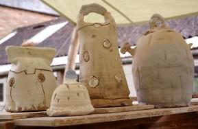 josh redman raw pots salt-glaze