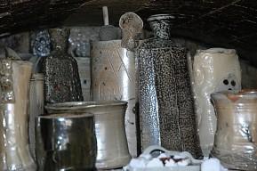 pottery courses salt kiln