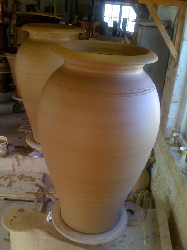 Ali Baba terracotta pots- Adam Keeling