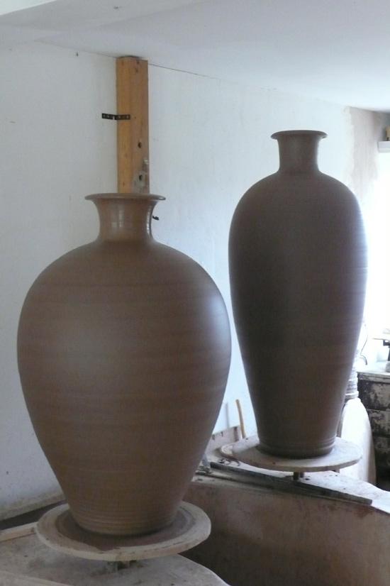 Terracotta bottles - Adam Keeling