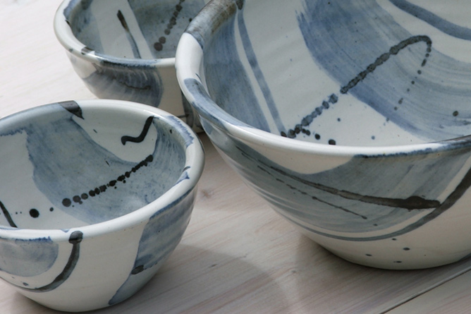 Hermann Peterson bowls
